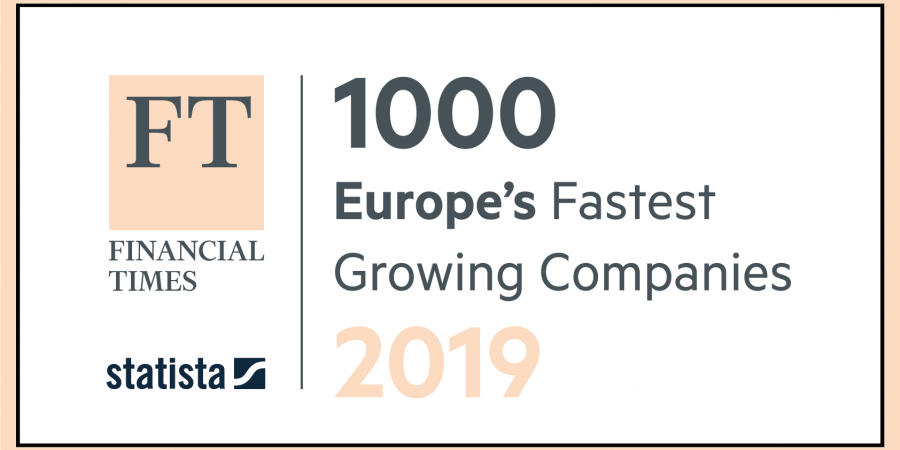 HODS in the FINANCIAL TIMES – 1000 Europe's Fastest Growing Companies