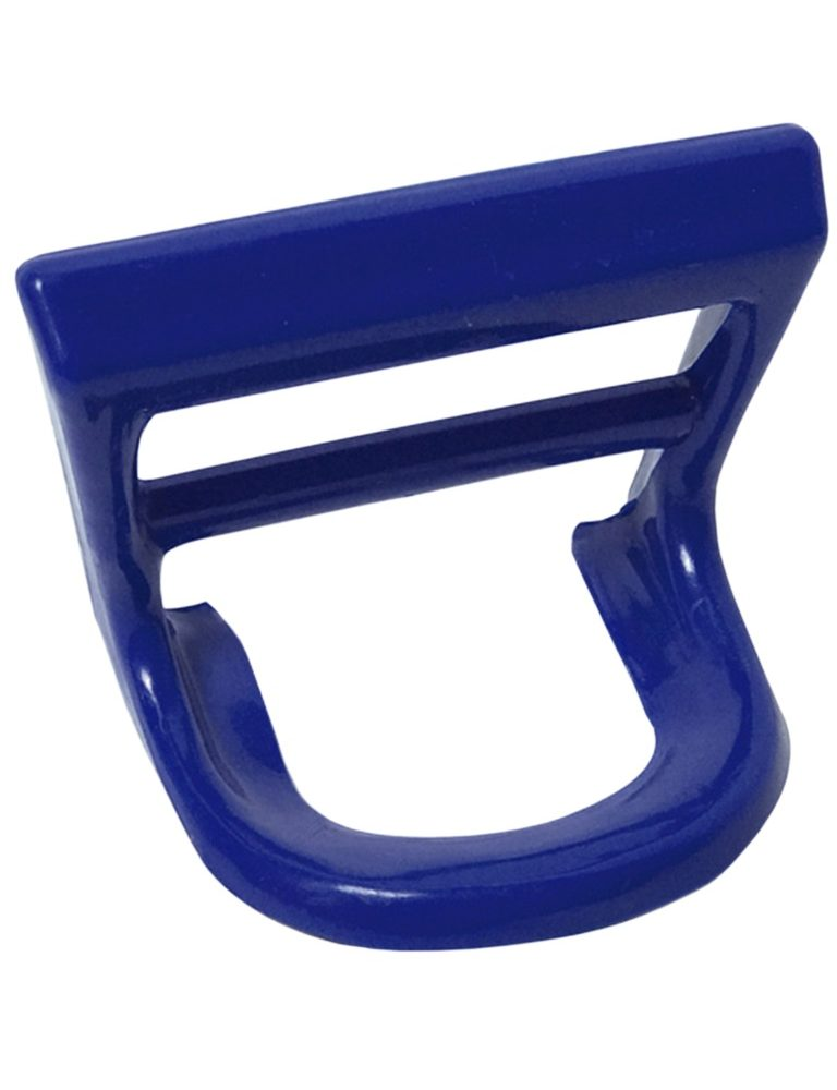 Square hanging handle for carrying bottles or carafes