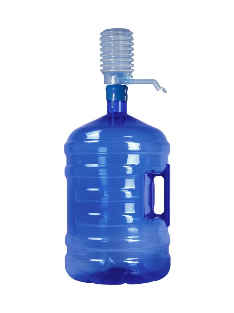 مضخة زجاجة مياه يدوية بسعة 5 جالون