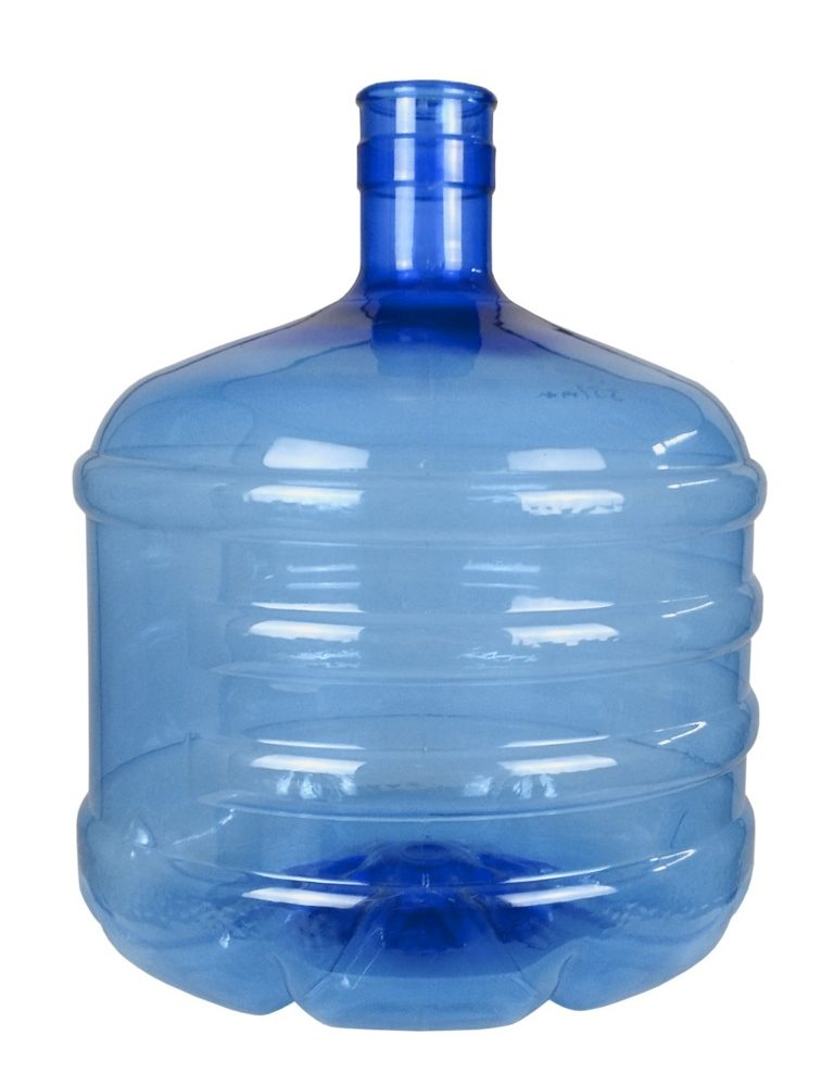 Botellón PET 12 litros Azul. Garrafa para agua