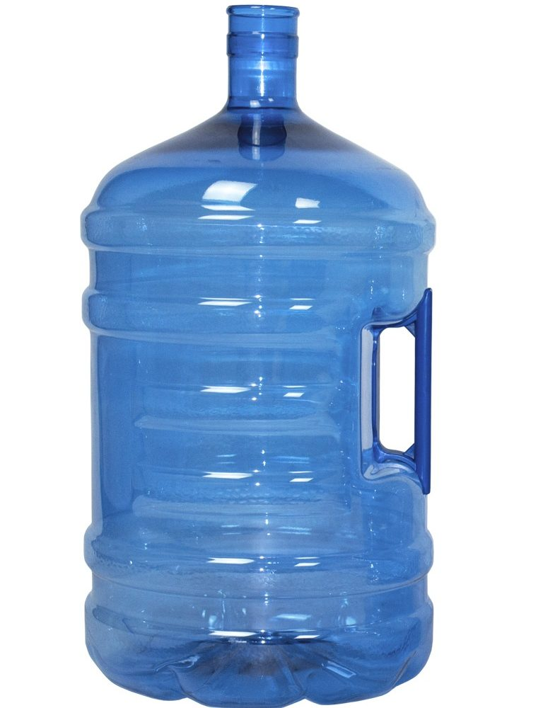 PET bottle 20 litres Blue. Water bottle