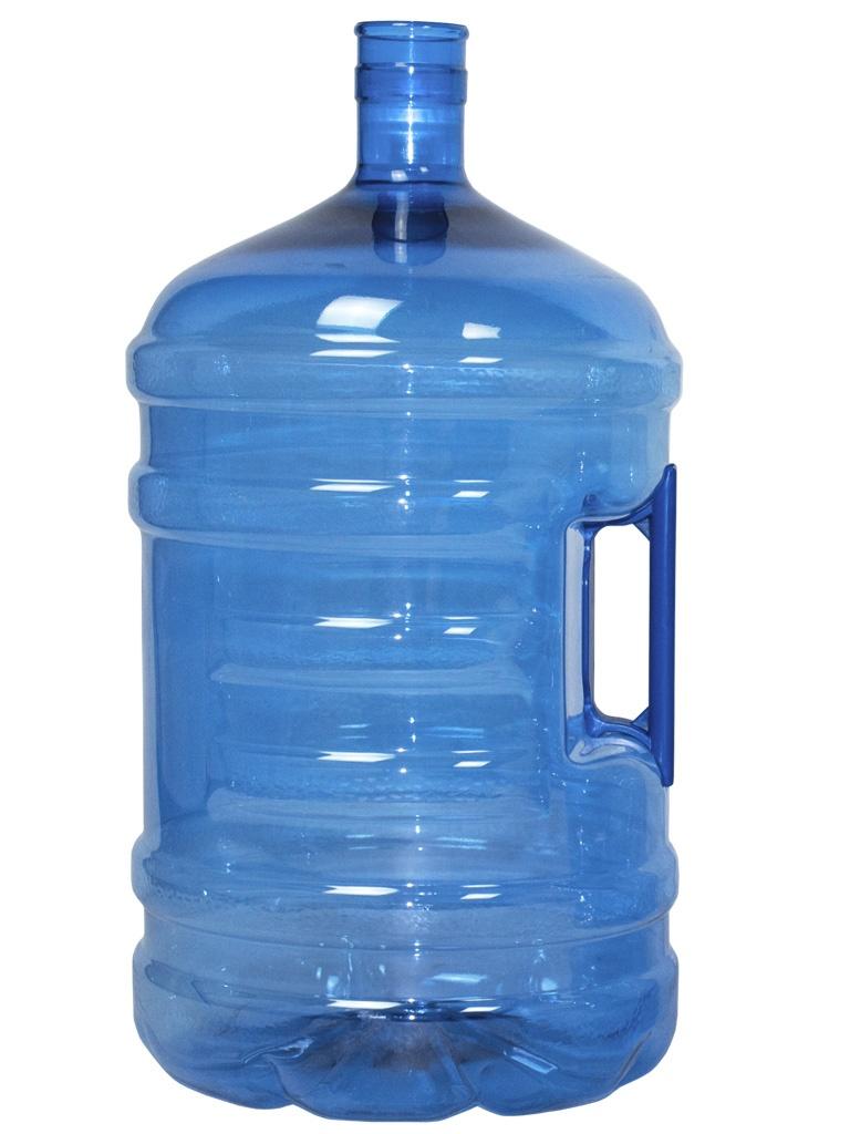 ПЭТ-ботелла 20 литров. Синий