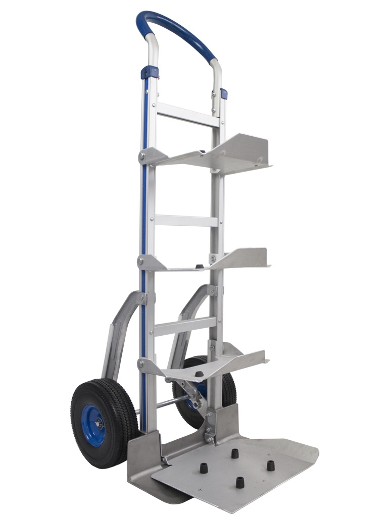 Manual trolley for 5 water bottles or carafes