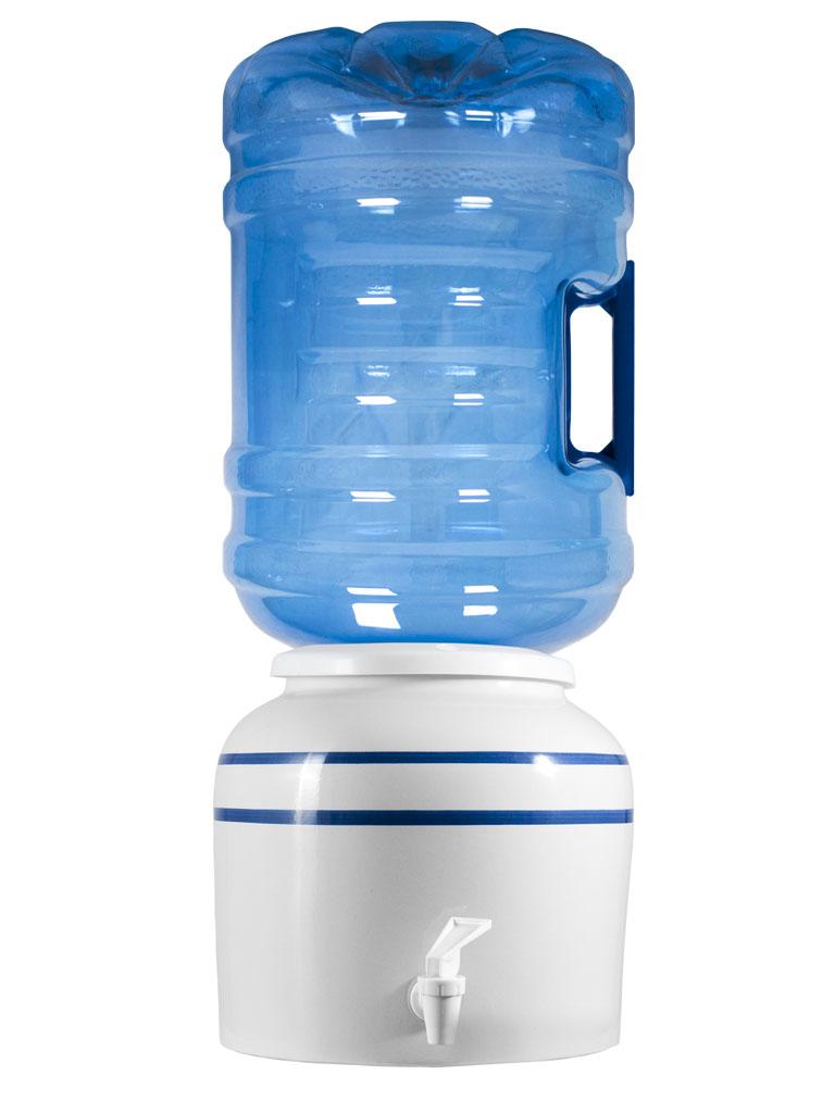 موزع سيراميك للزجاجات أو أباريق الماء