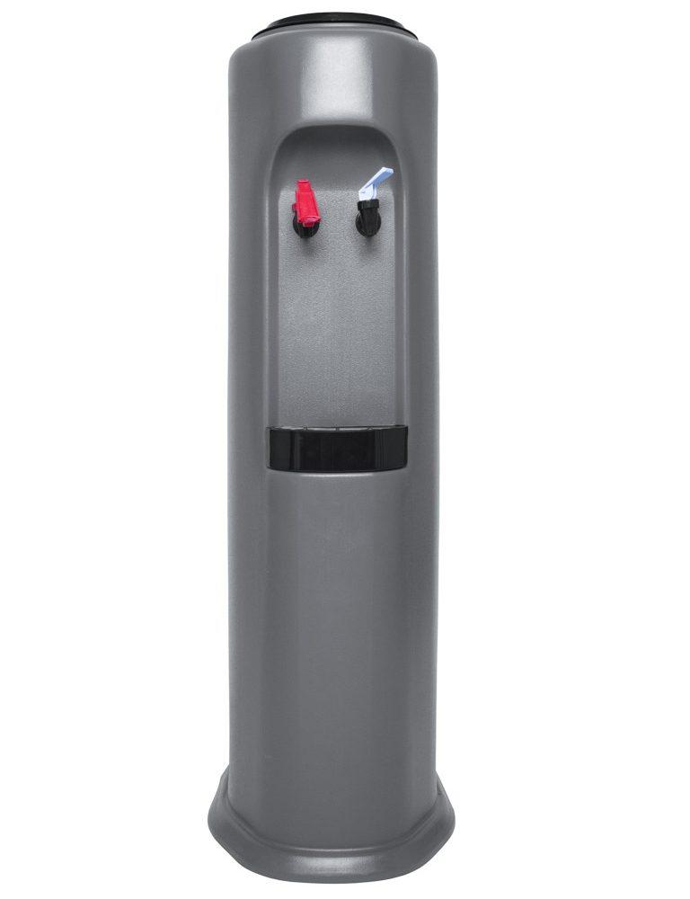 Water cooler Elegance One Grey for bottles or carafes