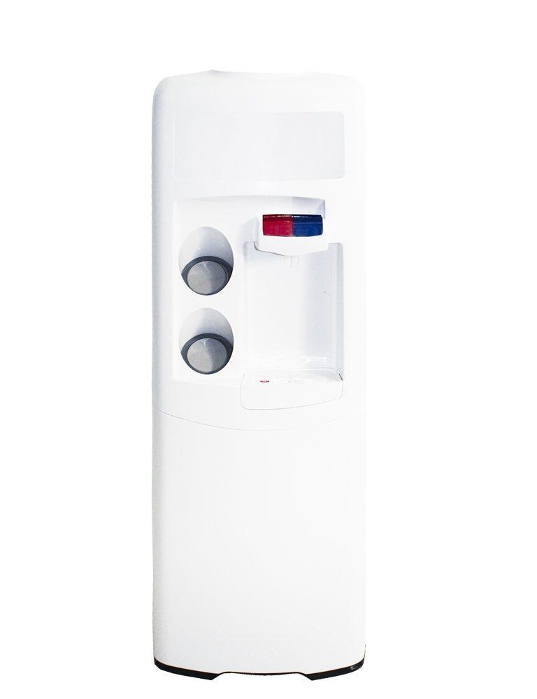 Dispensador de agua Emax de botellón Blanca Agua fría y caliente