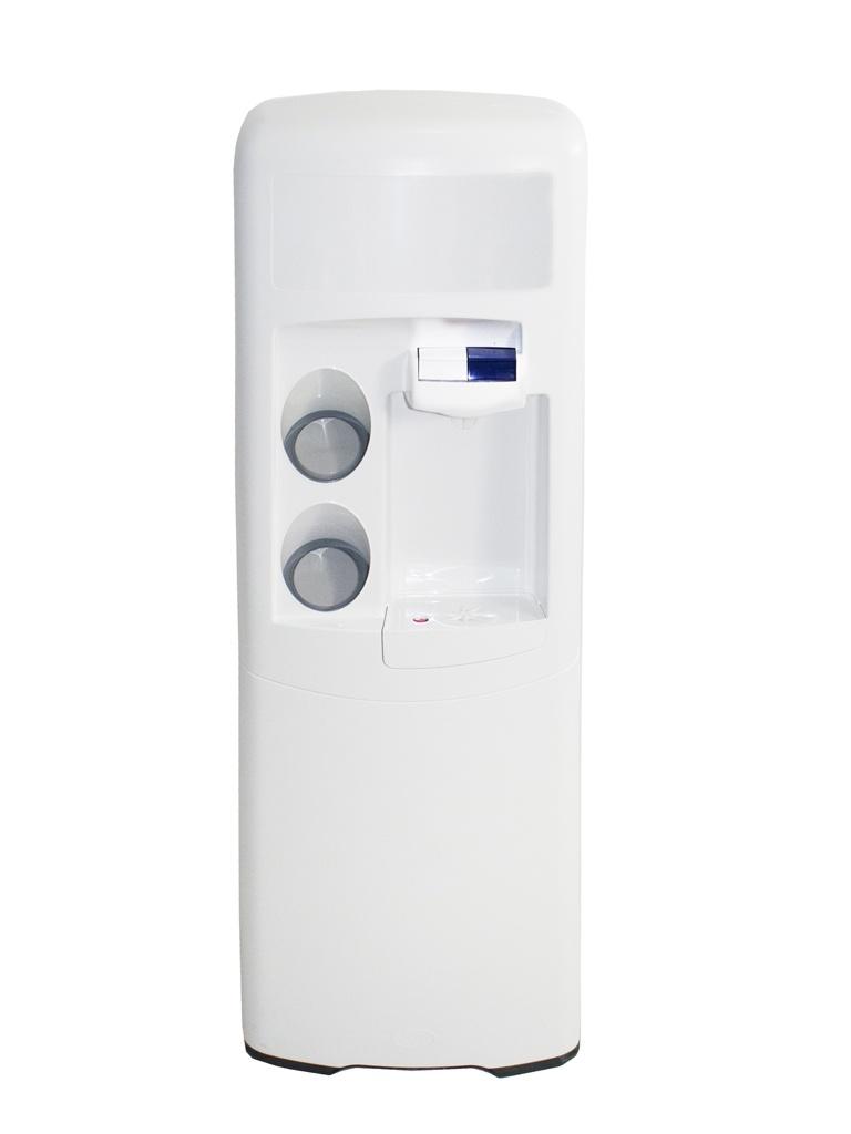 Dispensador de agua Emax de filtración POU Blanca Agua fría y natural