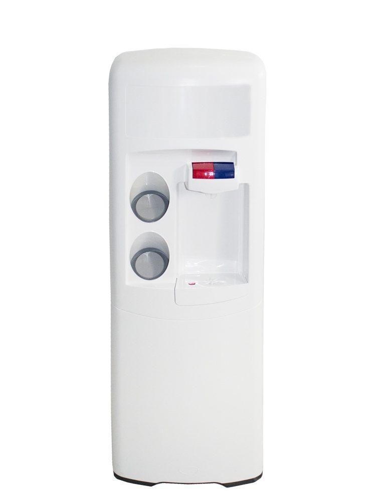 Dispensador de agua Emax de filtración POU Blanca Agua fría y caliente