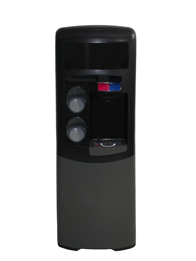 Dispensador de agua Emax de filtración POU Negra y gris Agua fría y caliente