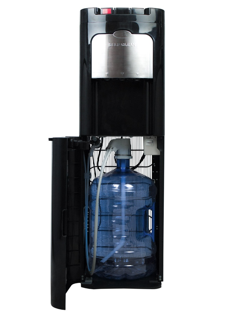 نافورة مياه Evossé O3 Down Black للزجاجات أو الأباريق